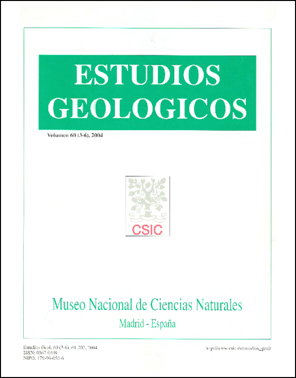 Ver Vol. 60 Núm. 3-6 (2004)