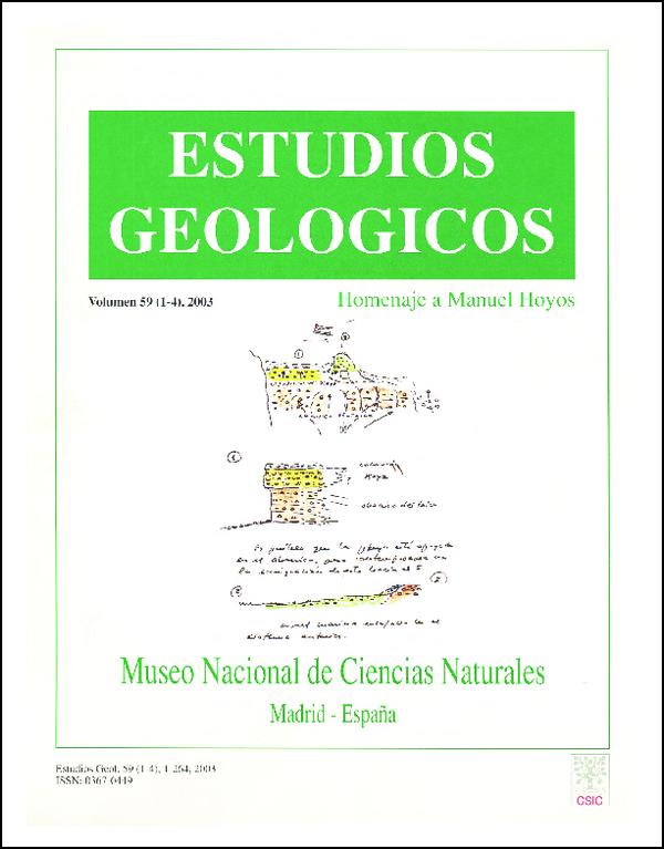 Ver Vol. 59 Núm. 1-4 (2003)