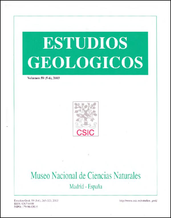 Ver Vol. 59 Núm. 5-6 (2003)